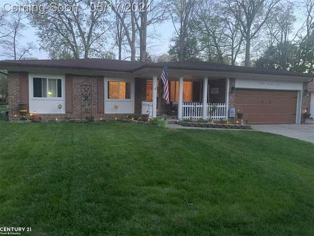 2176 Topaz, Troy, MI 48085 (#58050041667) :: Keller Williams West Bloomfield