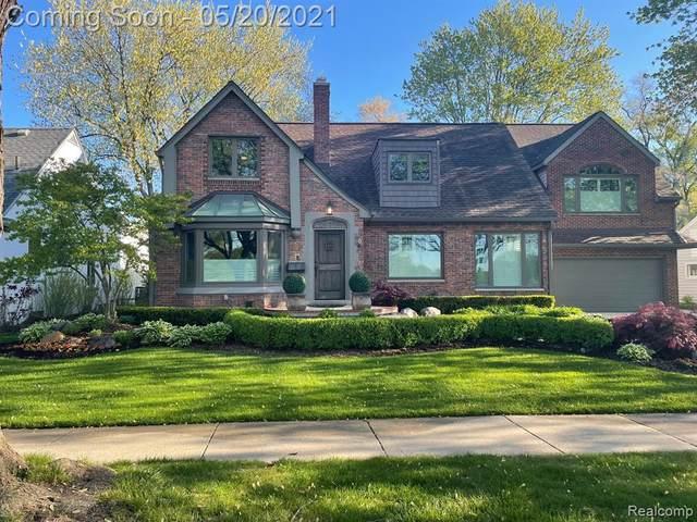 10554 Ludlow Avenue, Huntington Woods, MI 48070 (#2210035194) :: Keller Williams West Bloomfield