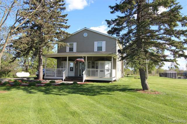 8750 Burt Road, Almont Twp, MI 48014 (#2210035230) :: Real Estate For A CAUSE