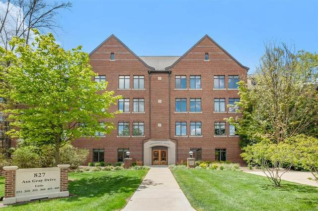 827 Asa Gray Drive #252, Ann Arbor, MI 48105 (#543280928) :: The Mulvihill Group