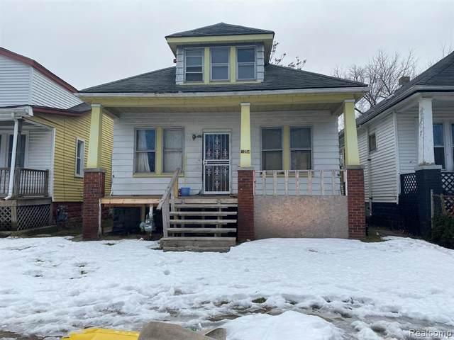 9354 Bessemore Street, Detroit, MI 48213 (#2210035463) :: The Mulvihill Group