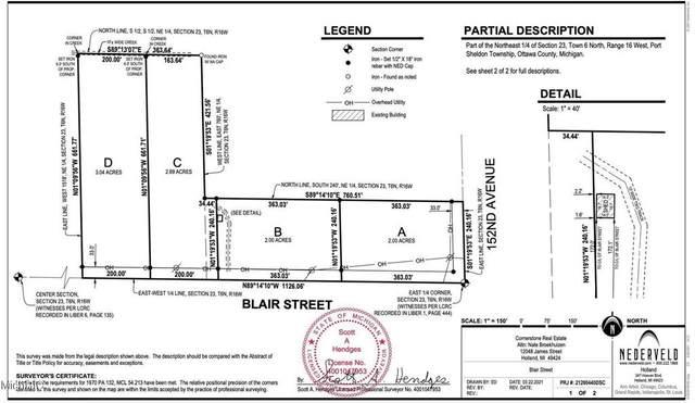 0 Blair Street, Port Sheldon Twp, MI 49460 (#71021017360) :: Novak & Associates