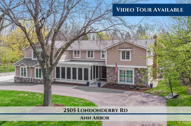 2505 Londonderry Road, Ann Arbor, MI 48104 (#543280970) :: BestMichiganHouses.com