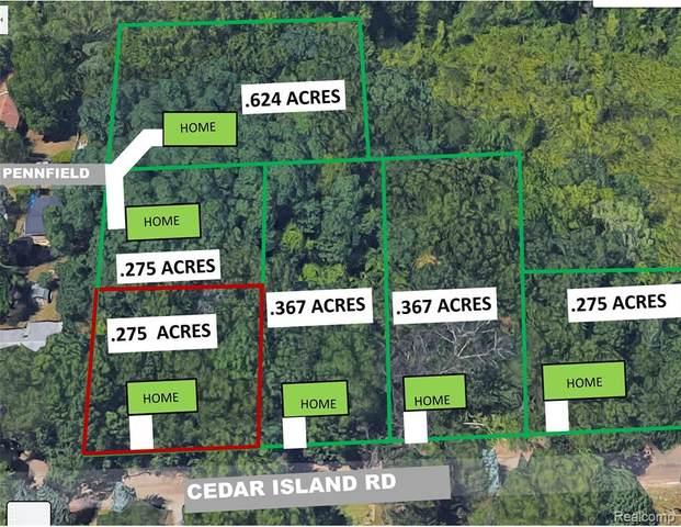 0000a Cedar Island Rd, White Lake Twp, MI 48386 (#2210035650) :: Keller Williams West Bloomfield