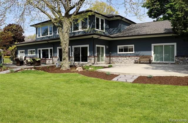 28760 Coleman Drive, Grosse Ile Twp, MI 48138 (#2210035711) :: BestMichiganHouses.com