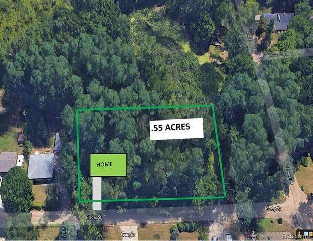 0000f Gladys Avenue, White Lake Twp, MI 48386 (#2210035744) :: Keller Williams West Bloomfield