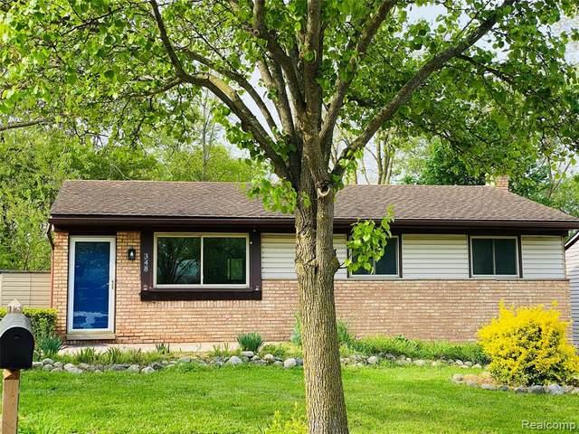 348 Larkspur Street, Ann Arbor, MI 48105 (#2210035943) :: The Alex Nugent Team | Real Estate One