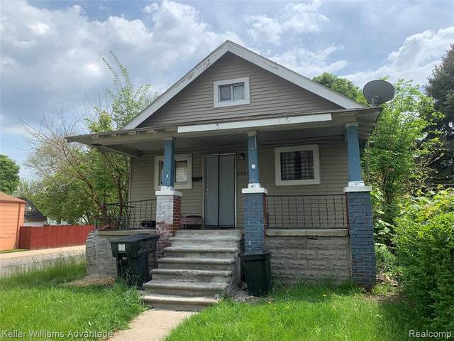 2201 Richton Street, Detroit, MI 48206 (#2210036178) :: Alan Brown Group
