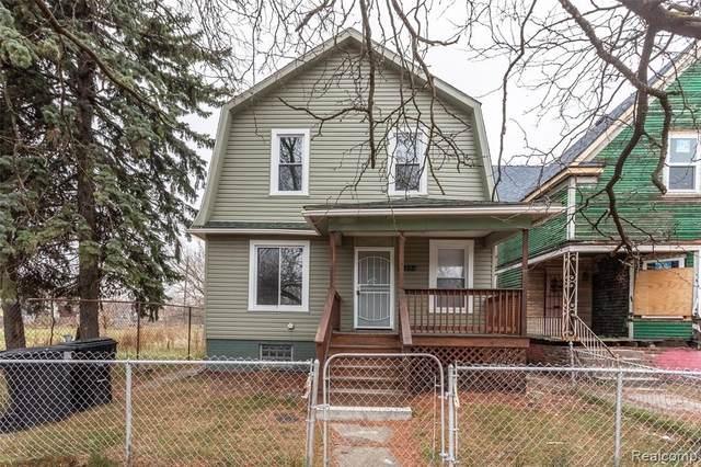 933 Mount Vernon Street, Detroit, MI 48211 (#2210036225) :: Alan Brown Group