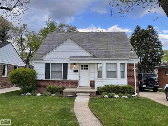 4714 Robinwood Ave, Royal Oak, MI 48073 (#58050042034) :: The Alex Nugent Team | Real Estate One