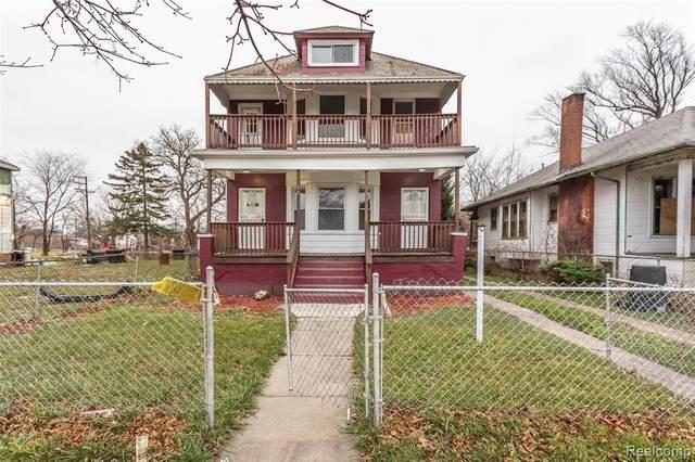 320 Kenilworth Street, Detroit, MI 48202 (#2210036250) :: The Alex Nugent Team | Real Estate One
