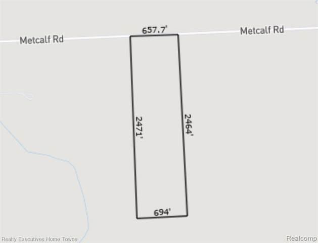 VL Metcalf Road, Kenockee Twp, MI 48006 (#2210037019) :: NextHome Showcase