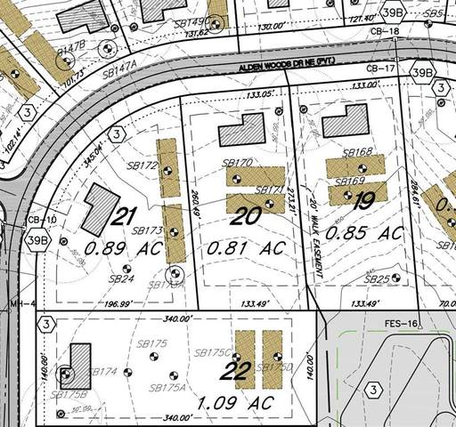 Lot 21 Alden Ct, Vergennes Twp, MI 49331 (#65021018088) :: Real Estate For A CAUSE