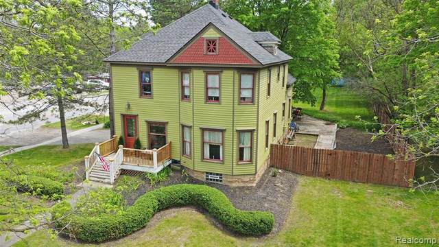 130 N Main Street, Village Of Clarkston, MI 48346 (#2210038155) :: Real Estate For A CAUSE