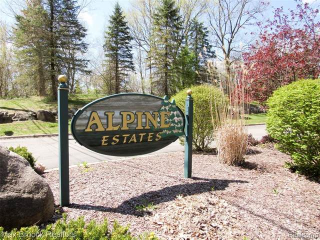 7390 Alpine View Drive, White Lake Twp, MI 48383 (#2210038451) :: NextHome Showcase