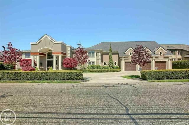 38371 Huron Pointe Drive, Harrison Twp, MI 48045 (#58050042816) :: Keller Williams West Bloomfield
