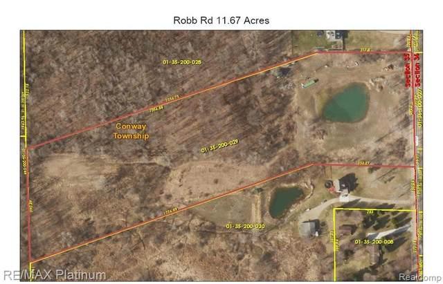 00 Robb Rd, Conway Twp, MI 48836 (#2210038639) :: GK Real Estate Team