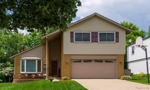 24299 Pinecrest Street, Novi, MI 48375 (#2210038779) :: Duneske Real Estate Advisors