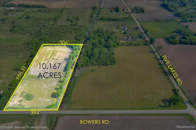00 Bowers Road, Mayfield Twp, MI 48446 (#2210039310) :: National Realty Centers, Inc