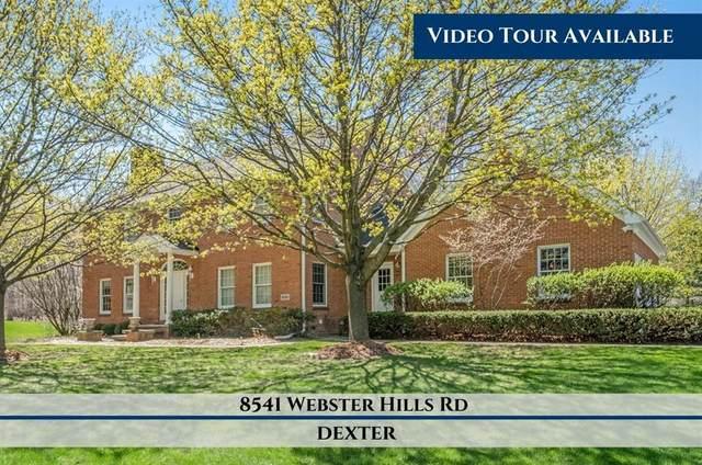 8541 Webster Hills Road, Webster Twp, MI 48130 (#543281304) :: Real Estate For A CAUSE