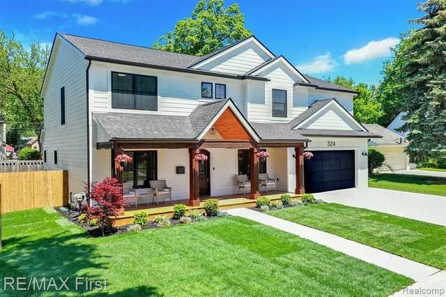 324 W Houstonia Avenue, Royal Oak, MI 48073 (#2210040124) :: Robert E Smith Realty