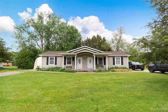 702 & 704 Aldrich Street, Linden, MI 48451 (#2210041050) :: Real Estate For A CAUSE