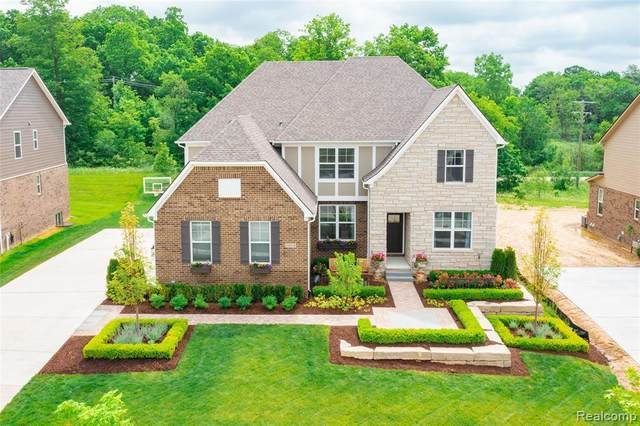24508 Scenic Drive, Lyon Twp, MI 48178 (#2210041355) :: Real Estate For A CAUSE