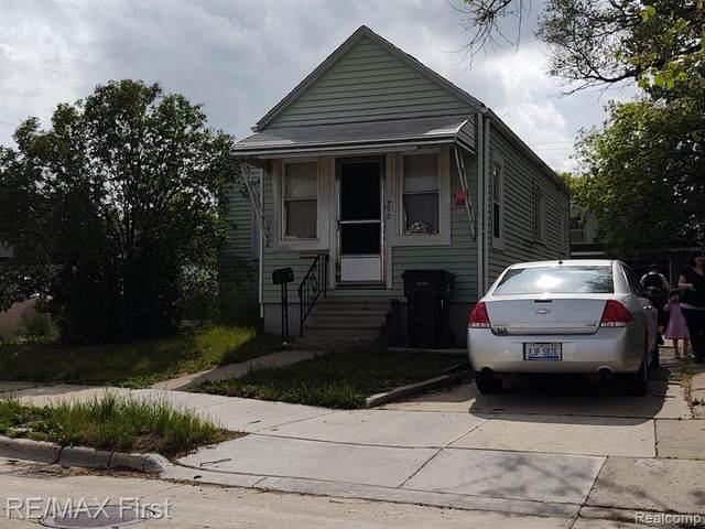 710 Garfield Street, Wyandotte, MI 48192 (#2210041434) :: GK Real Estate Team