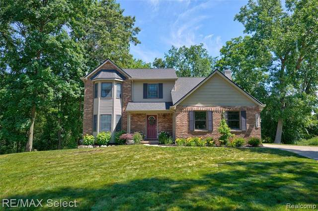 14526 Blue Heron Drive, Fenton, MI 48430 (#2210041608) :: Real Estate For A CAUSE