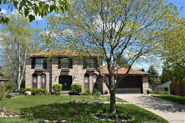 23583 Highmeadow Drive, Novi, MI 48375 (#2210041645) :: Duneske Real Estate Advisors