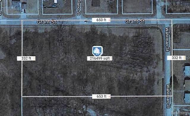 OOOOO Grant Wahrman, Romulus, MI 48174 (#2210042305) :: Real Estate For A CAUSE