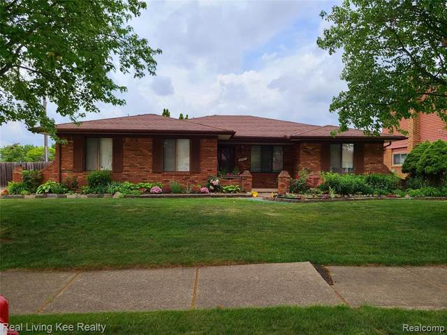 39011 Faith Drive, Sterling Heights, MI 48310 (#2210042971) :: Real Estate For A CAUSE