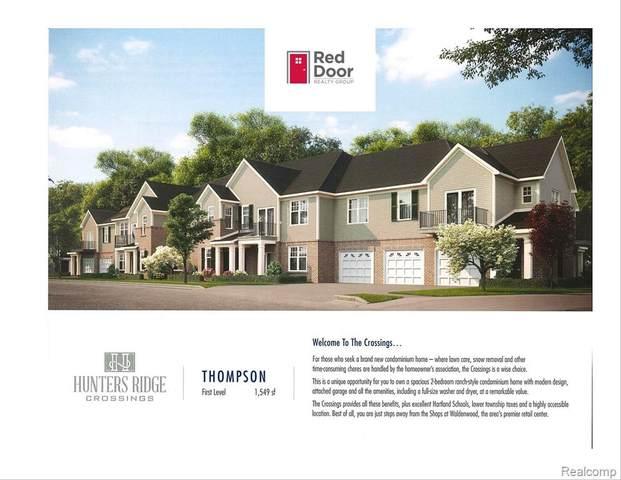 9900 Ridge Run Street #32, Hartland Twp, MI 48855 (#2210043123) :: Alan Brown Group