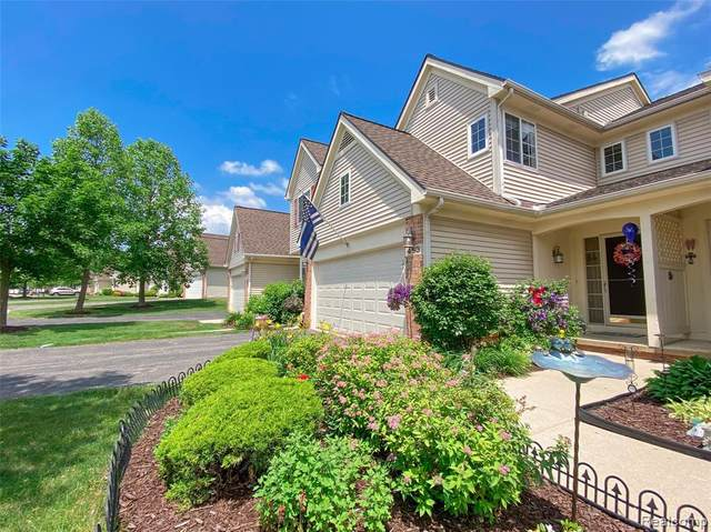 453 Lilly View Court #61, Genoa Twp, MI 48843 (#2210043158) :: Alan Brown Group