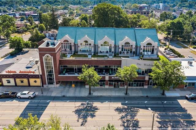 1021 Washington Avenue I, Royal Oak, MI 48067 (#2210044815) :: Robert E Smith Realty