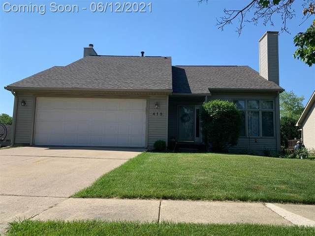 415 Berkshire Drive, Saline, MI 48176 (#543281619) :: Real Estate For A CAUSE