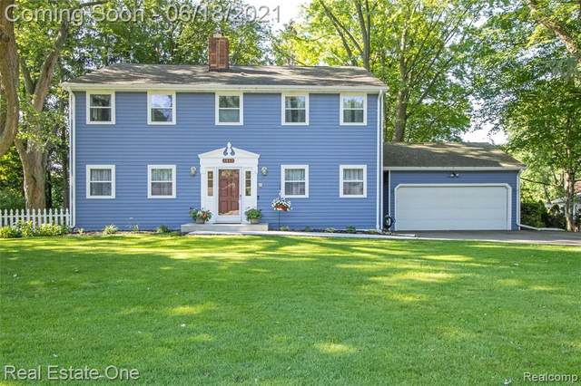 3087 Old Orchard Drive, Brighton Twp, MI 48114 (#2210045235) :: The Mulvihill Group
