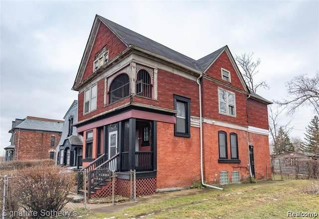 3677 Lincoln Street, Detroit, MI 48208 (#2210045278) :: Keller Williams West Bloomfield