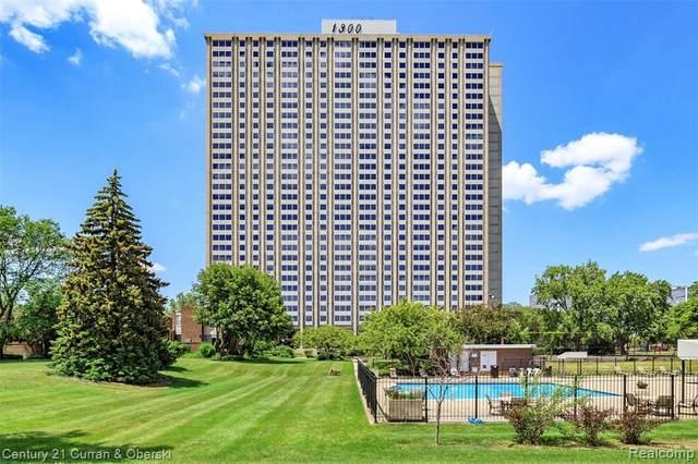 1300 E Lafayette Street #606, Detroit, MI 48207 (#2210045572) :: Alan Brown Group