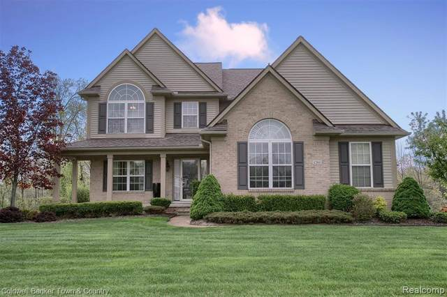 1285 N Chemung Forest Drive, Genoa Twp, MI 48843 (#2210045588) :: The Mulvihill Group