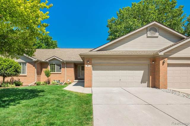 1955 Pebble Creek Drive, Canton Twp, MI 48188 (#2210045641) :: Real Estate For A CAUSE