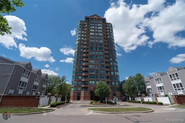 3320 Spinnaker Ln 3E, Detroit, MI 48207 (#2210045897) :: Alan Brown Group