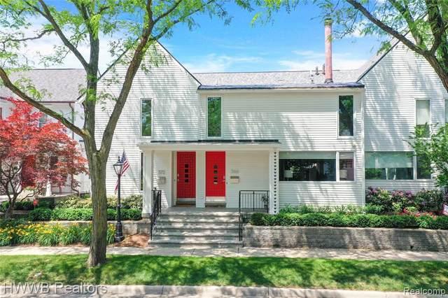 366 W Brown Street #2, Birmingham, MI 48009 (#2210046036) :: Real Estate For A CAUSE