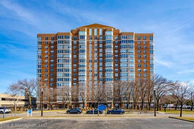 250 E Harbortown Dr Apt 156 #1409, Detroit, MI 48207 (#2210046158) :: Duneske Real Estate Advisors