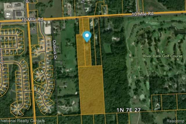 56399 10 Mile, Lyon Twp, MI 48178 (#2210046306) :: Duneske Real Estate Advisors