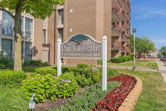 1941 orleans Orleans St # 77/635 #635, Detroit, MI 48207 (#2210046492) :: Real Estate For A CAUSE