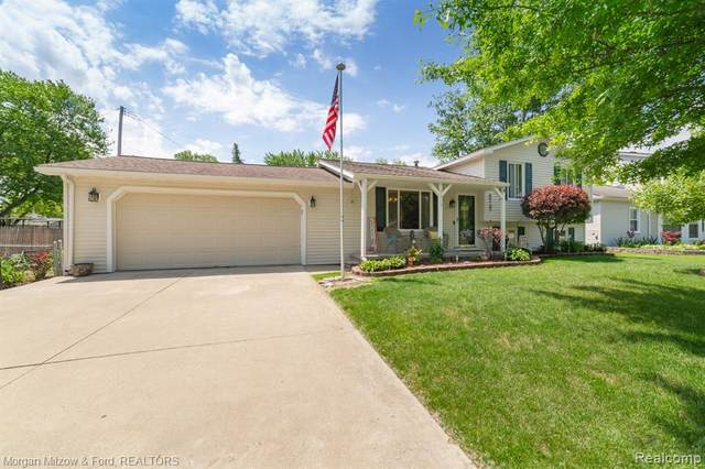 5515 Aylesbury Drive, Waterford Twp, MI 48327 (#2210046508) :: Real Estate For A CAUSE