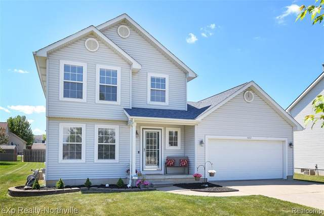 4262 Covey Lane, Burton, MI 48439 (#2210046669) :: Real Estate For A CAUSE