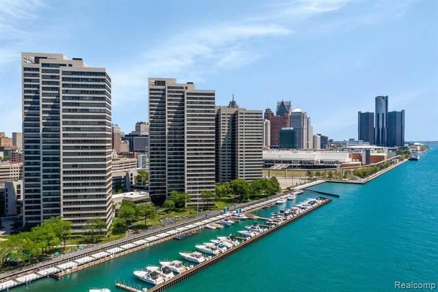 1001 W Jefferson Ave # 300/12E, Detroit, MI 48226 (#2210046687) :: Real Estate For A CAUSE