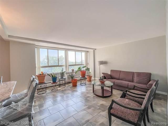 8900 E Jefferson Avenue #824, Detroit, MI 48214 (#2210047046) :: Real Estate For A CAUSE